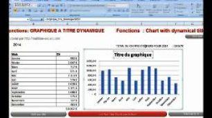 Excel 2007 : graphique a titre dynamique