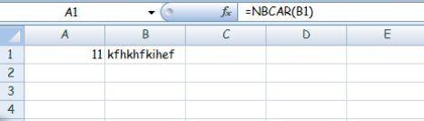 Excel 2007 NBCAR