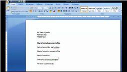 Word 2007 appliquer gras italique souligner texte