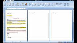 Word 2007 ajouter des numéros de page