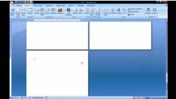 Word 2007 insérer un saut de page