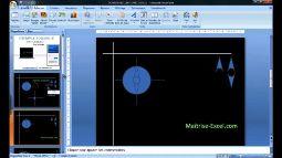 Comment faire un effet boussole sur Powerpoint