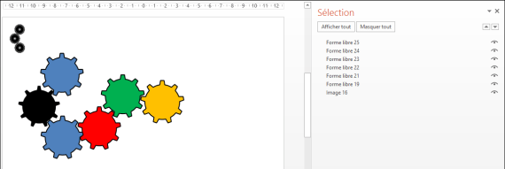 Powerpoint 2013 : Comment faire une animation engrenage sur Powerpoint en moins de 5 min. POWERPOINT_2013_EX_ENGRENAGE