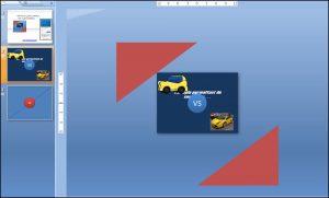 Powerpoint 2007 : Comment faire un écran fragmenté V3 sur Powerpoint en moins de 5 min. POWERPOINT_2007_EX_ECRAN_FRAGMENTE_V3