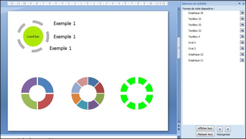 Powerpoint 2007 : Comment faire une timeline load bar sur Powerpoint en moins de 9 min.