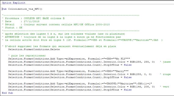 Excel 2010 : Comment faire une boucle sur contenu cellule via Excel VBA en moins de 5 min.