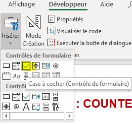 Excel 2016 : Comment créer une case a cocher sur Excel en moins de 2 min.