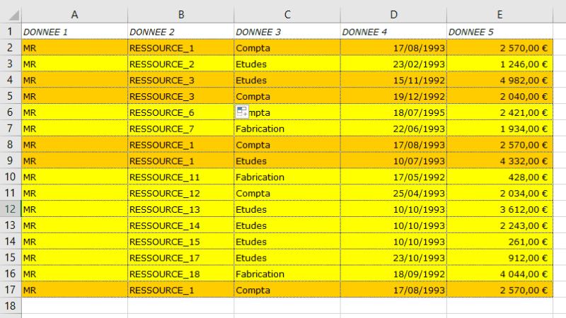 Excel 2016 : Comment supprimer ligne en doublons sur Excel VBA en moins de 3 min.