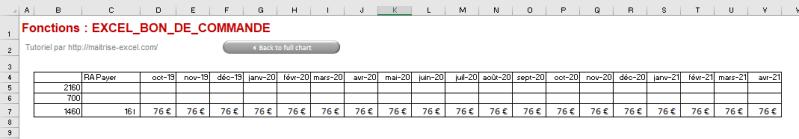 EXCEL 2016 : Comment lisser une charge sur Excel en moins de 6 min.  Pour vous aider à Organiser son budget : une formule pour lisser vos charges