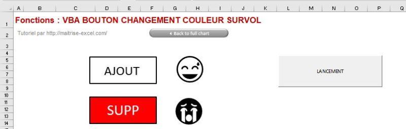 Excel 365 : Comment créer un bouton qui change de couleur au survol de la souris dans un formulaire en moins de 15 min.