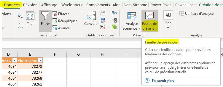Excel 365 : Créer une feuille de prévision sur Excel en moins de 15 min.