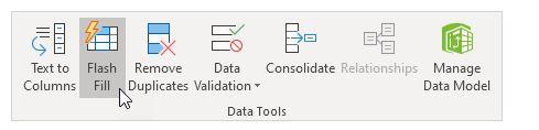 Excel 365 : Comment utiliser le remplissage instantanée