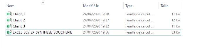 Comment combiner plusieurs fichiers pour en réaliser une synthèse sur Excel