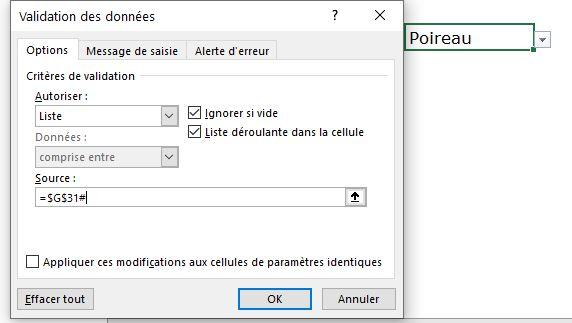 Excel 365 : Créer un menu dynamique sur Excel via 3 méthodes en moins de 5 min.
