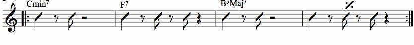 rythmique comping