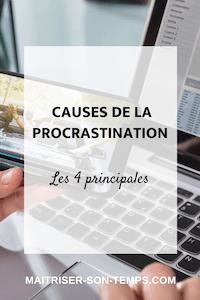 Les 4 principales causes de la procrastination
