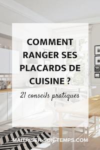 Comment ranger ses placards de cuisine? 21 conseils pratiques
