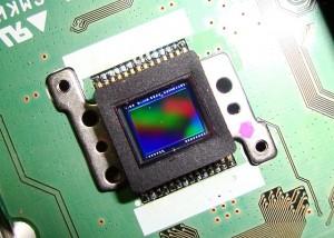 Capteur CCD 6 mégapixels