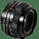 Objectif Minolta normal 50mm