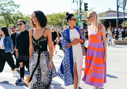 Standing out at New York Fashion Week