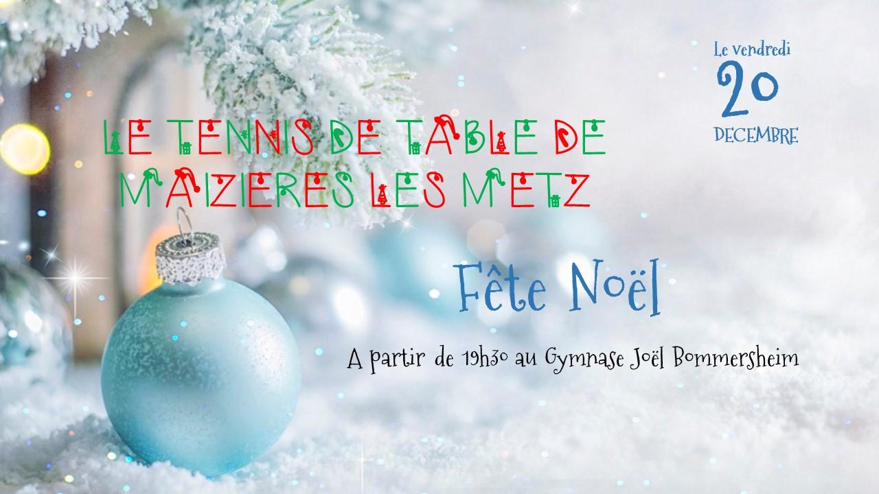 LE TT Maizières fête Noel
