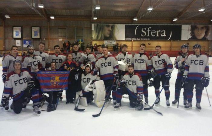 Hockey Hielo: El FC Barcelona se lleva los puntos de Majadahonda pero 11 chicas viajan a Islandia con España