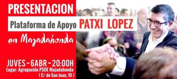 Los partidarios de Patxi López presentan su Plataforma de Apoyo en el PSOE de Majadahonda