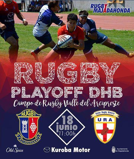 El rugby acapara el fin de semana deportivo: CR Majadahonda-UR Almería