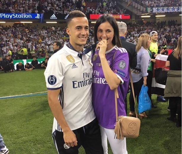 Lucas Vázquez (Real Madrid) elige Majadahonda para casarse con su novia Macarena