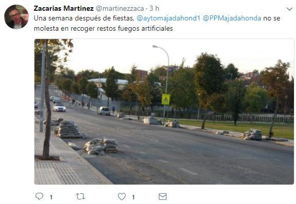 PSOE Majadahonda denuncia retrasos en la limpieza viaria y deficiencias en las casas oficiales (IVIMA)