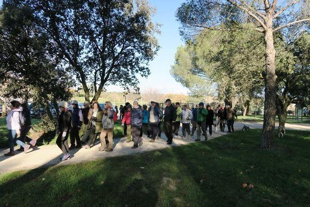 Amigos de los Caminos Majadahonda vuelve a la Casa de Campo tras 14 años de ausencia