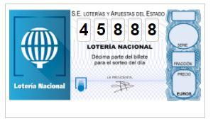Majadahonda recibe parte del primer premio de lotería (300.000 €) con el número 45.888