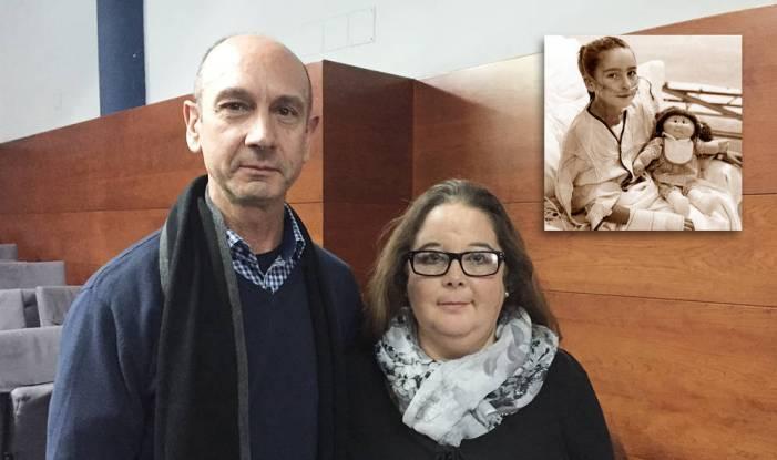 La primera niña española trasplantada de corazón cumple 44 años en Majadahonda