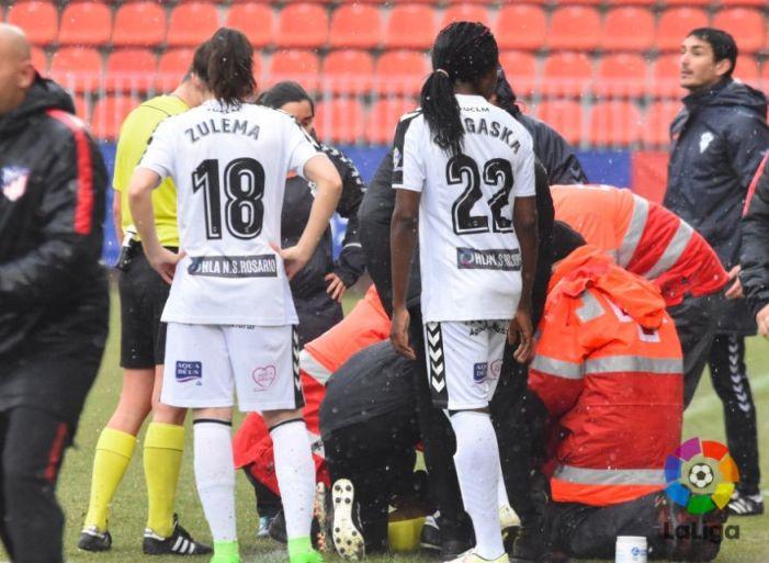 Una árbitra de fútbol sufre una hipotermia en Majadahonda a 3º durante el At. Madrid-Albacete