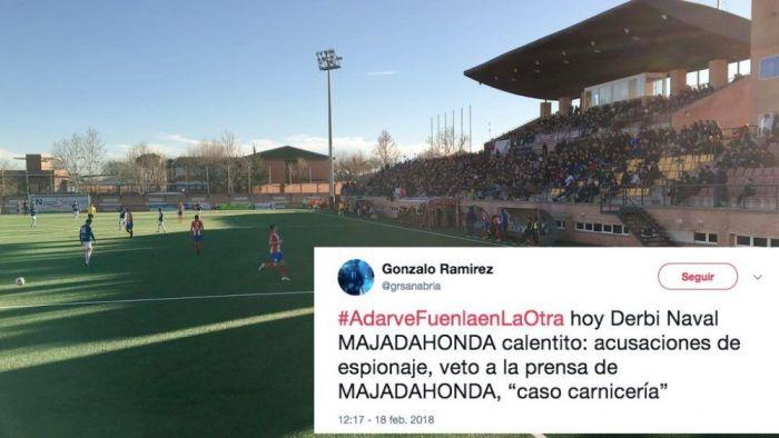 """Rayo Majadahonda saca """"frutos"""" de Navalcarnero y """"enfría"""" el derby con 2 goles en 4 minutos"""