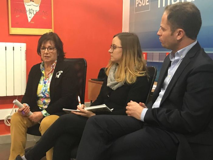 """""""Por primera vez hemos organizado un acto feminista en el PSOE de Majadahonda"""""""
