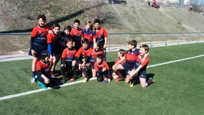"""Rugby: Los """"rhinos"""" de 6 a 14 años representan a Majadahonda en el RugbyFest de Alcobendas frente a 22 clubes"""