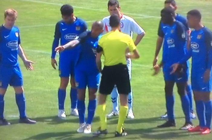 La prensa deportiva de Fuenlabrada ataca al árbitro y el Rayo Majadahonda le da las gracias