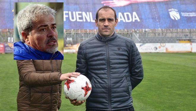 """Eloy, entrenador del Fuenlabrada: """"seguro que el Rayo Majadahonda falla"""" en 2 de los 3 partidos"""