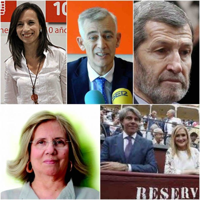 Política: Cifuentes (PP), Rubio (Cs), Corredor (PSOE), Rodríguez (Podemos) y Pedreira (Centristas)