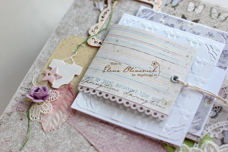 Baby Girl Album, Maja Design, by Elena Olinevich3a
