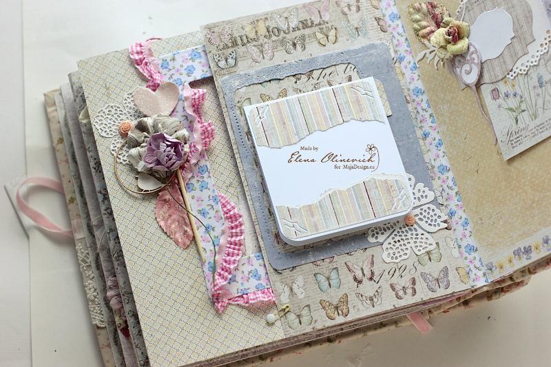 Baby Girl Album, Maja Design, by Elena Olinevich7