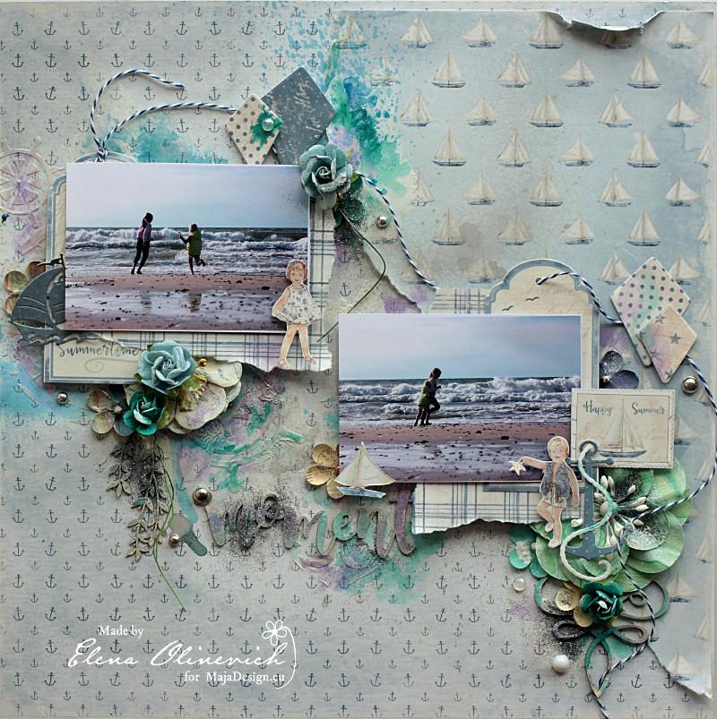 Nautical Moments, by Elena Olinevich, Maja Design, Main
