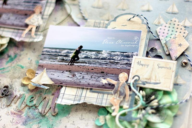 Nautical2, Moments, by Elena Olinevich, Maja Design