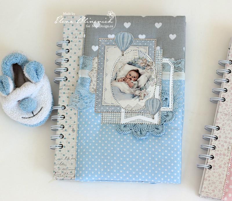 Baby Boy Book, by Elena Olinevich, Maja Design2
