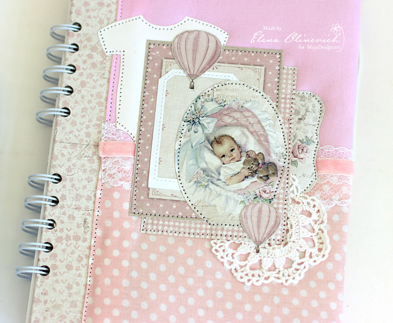 Baby Girl Book, by Elena Olinevich, Maja Design 2