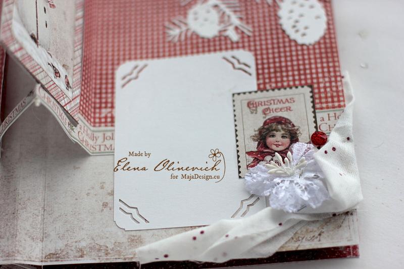 Winter is Magic Mini Album, by Elena Olinevich, Maja Design, photo8