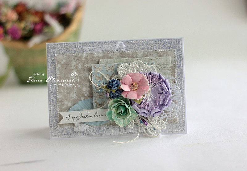 Spring Card by Elena Olinevich for Maja Design2