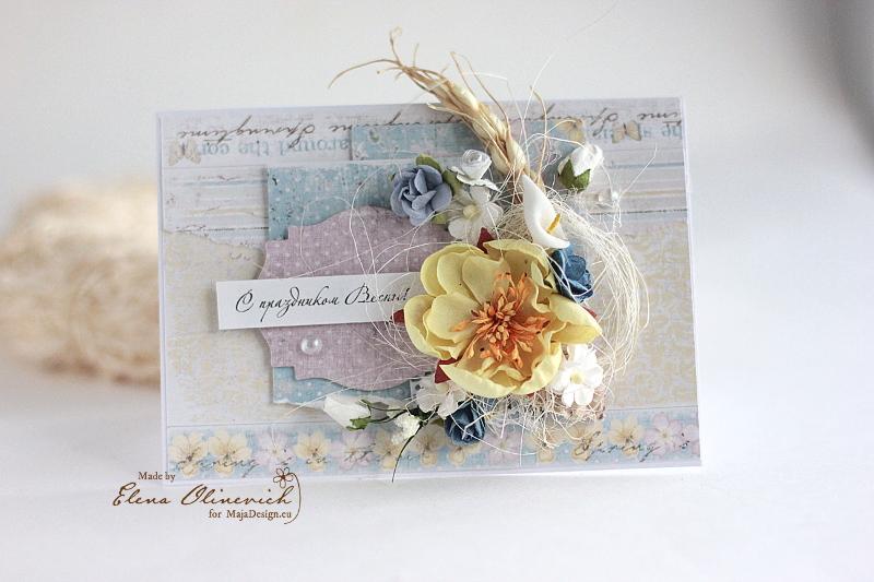 Spring Floral Cards Maja DEsign3