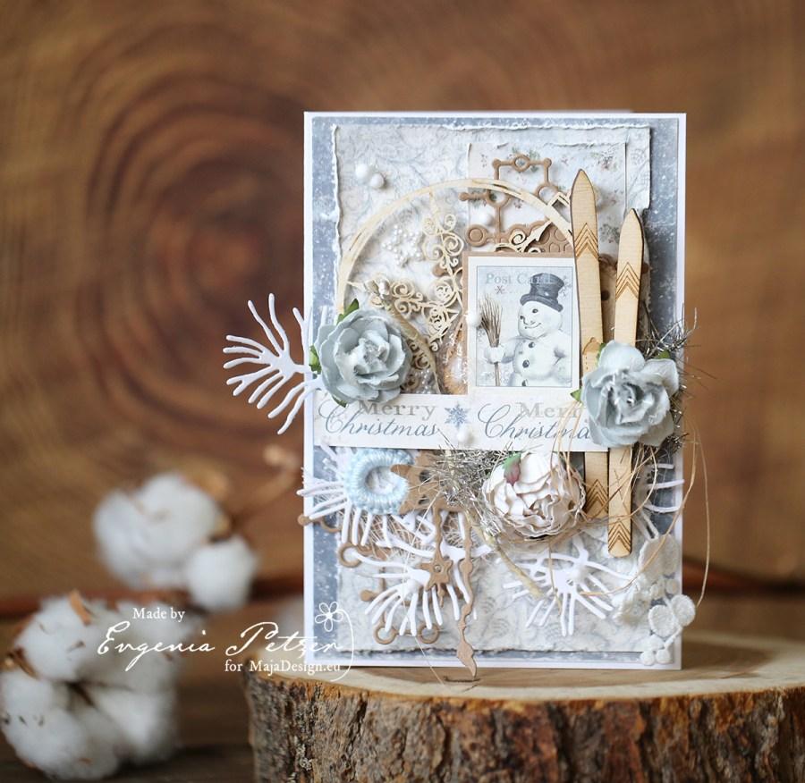 Joyous_winterdays_snowman_card1_Petzer_MBlog